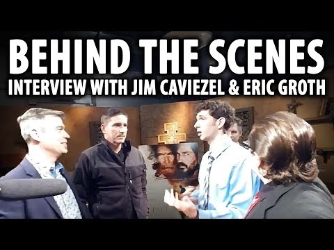 New Catholic Generation Experiences Interviewing Jim Caviezel and Eric Groth