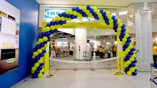 Highlights of IKEA grand opening at Al Wahda Mall