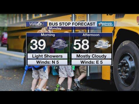 Bus Stop Forecast Monday, February 11, 2019