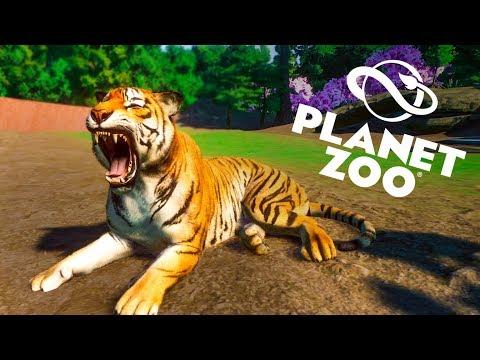 Making A Beautiful Tiger Habitat :: Planet Zoo