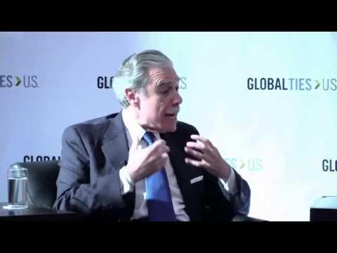 Latin America Dialogue: Neil King & Carlos Gutierrez at #GlobalTies2015