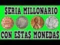 Monedas para coleccionar de 10 centavos del 2000 de Ecuador/ Monedas Ecuatorianas de colección.