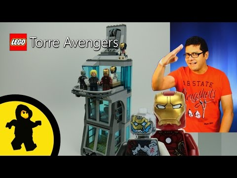 Lego Torre Avengers (Attack on Avengers Tower / Set 76038) Juguetes Lego