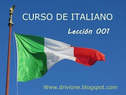 conjugar-el-verbo-parlare,-capire,-fare,-mangiare,-volere- -curso-de-italiano- -lección-001