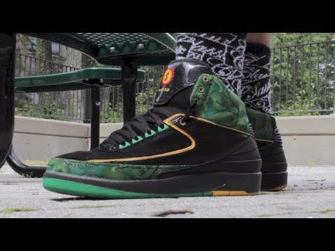 Doernbecher Jordan 2 II On Feet Review Designed by ...
