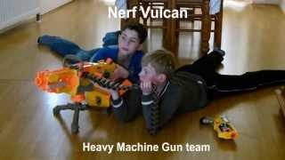 Nerf Vulcan, Heavy Machine Gun team