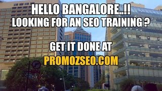 SEO Training by PROMOZSEO.COM in Bangalore, India