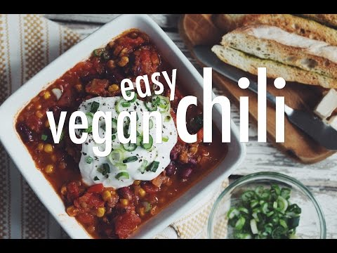 EASY VEGAN CHILI | Hot For Food