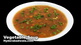 Vegetable Soup Recipe Video  How to Make Healthy Vegetable Soup at Home  Easy & Simple