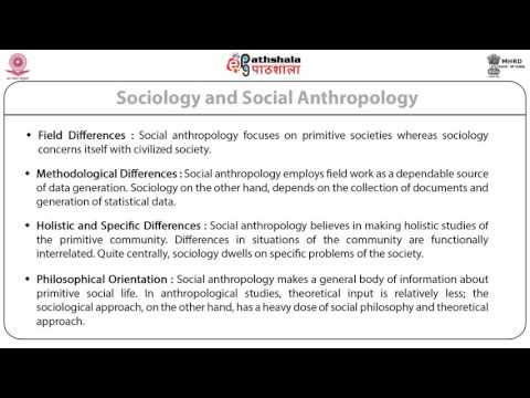 Relations with other branches of anthropology, Relations with other disciplines (ANT)