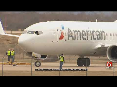 American Airlines Brings 737 MAX 8 Jets To Tulsa For Parking