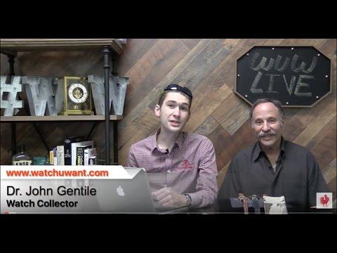WuW Live: Collector Conversation: John Gentile On Vintage Rolex, Breitling, & More