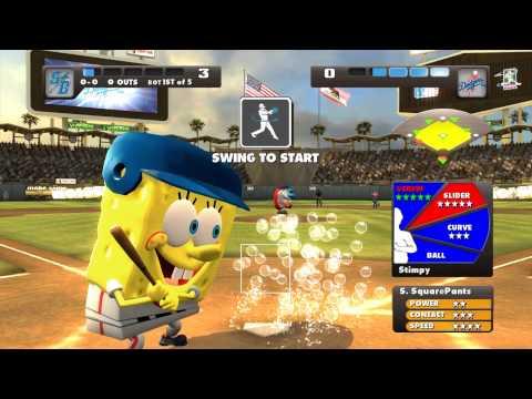 Nicktoons MLB Xbox 360 Kinect gameplay Dodger Stadium
