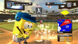 Nicktoons MLB Xbox 360 Kinect gameplay Dodger Stadium