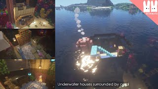 Minecraft | How to Build an Underwater House | BudsBuild