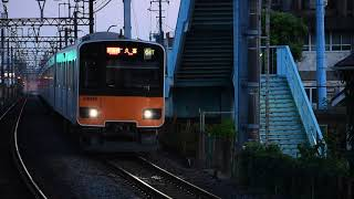 東武50050系51068F急行久喜行き堀切駅通過