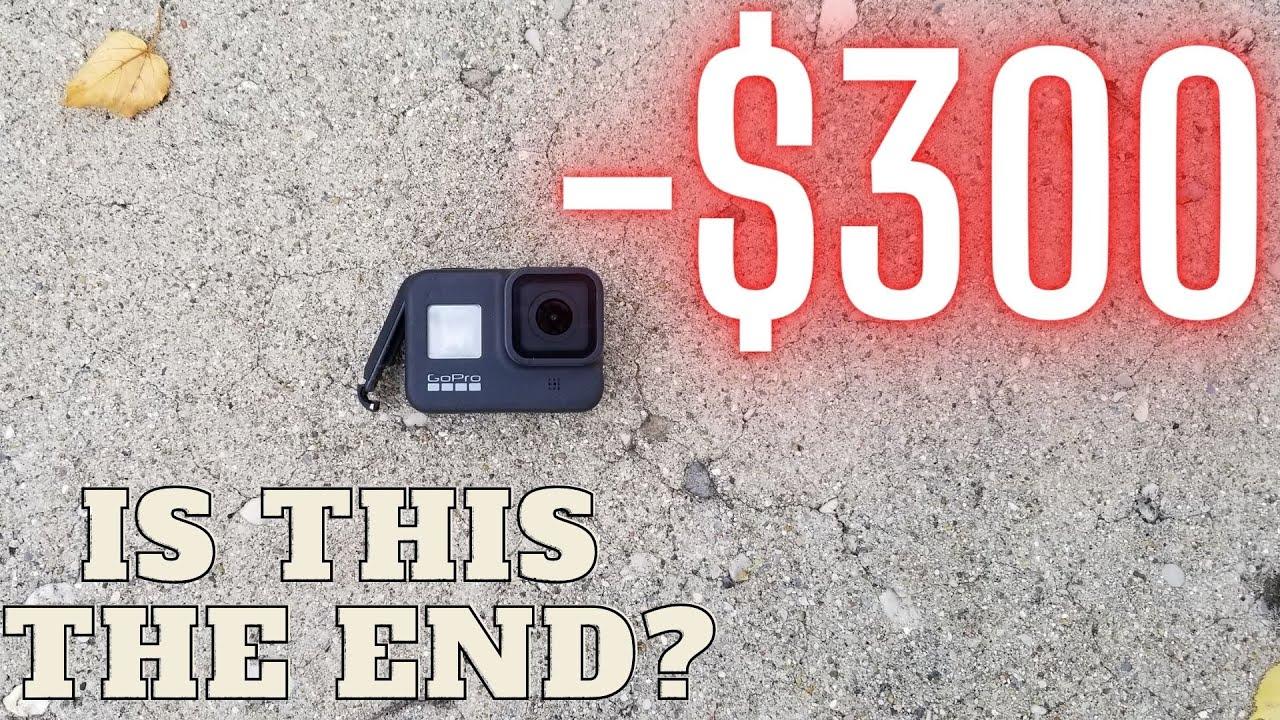 GoPro Destroyed at Yard Sale
