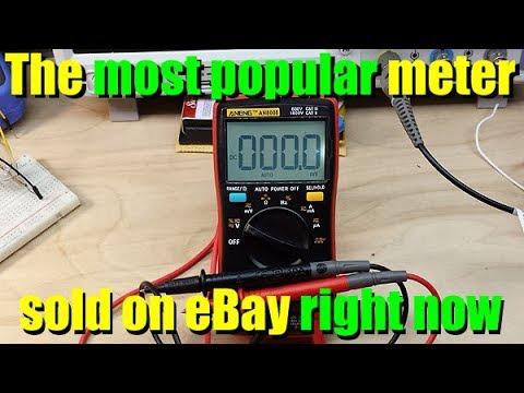 Aneng An8008 Multimeter Review & Teardown
