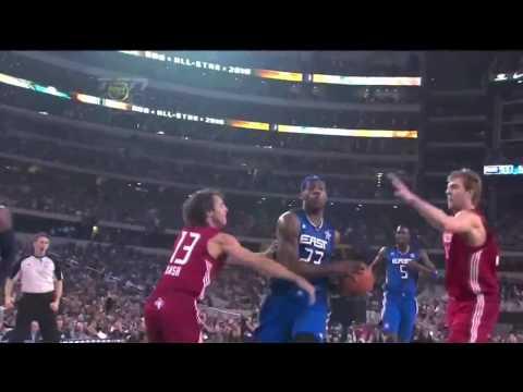 LeBron James, Dwyane Wade, Chris Bosh highlights NBA All Star Game 2010