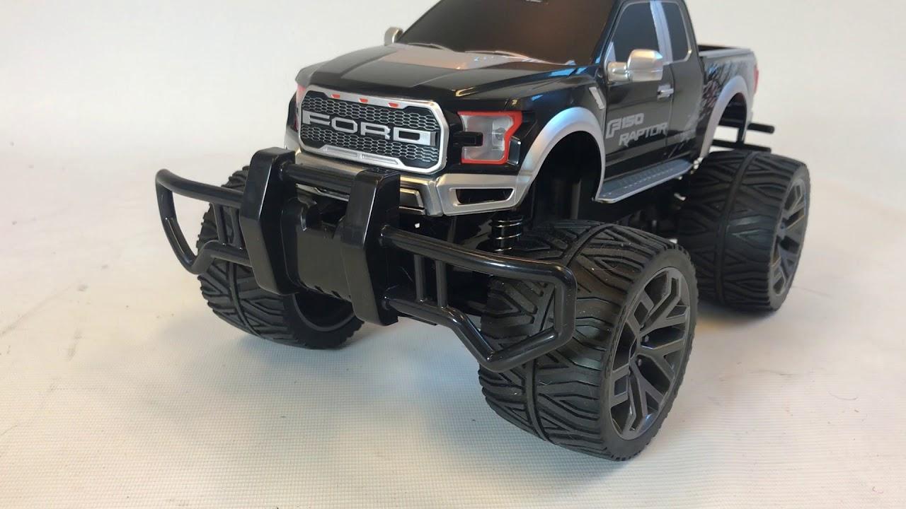 carrera rc ford f 150 raptor zwart bestuurbare auto. Black Bedroom Furniture Sets. Home Design Ideas