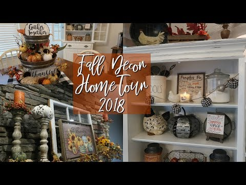 FALL HOME TOUR 2018 | TRADTIONAL + COUNTRY + FARMHOUSE DECOR | Cook Clean And Repeat