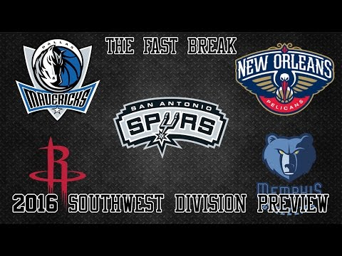2016 NBA Southwest Division Preview (Part 1)