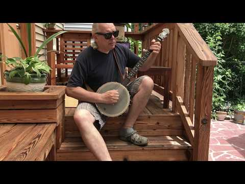 The Coo Coo Bird never hollers 'til the 4th Day of July, (banjo)