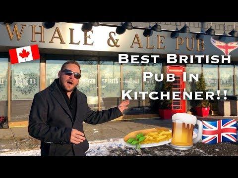 Kitchener Bars: Whale And Ale British Pub 🇬🇧🇨🇦
