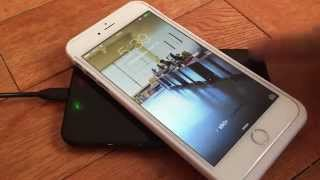 A Qi wireless charging case for the iPhone 6 Plus