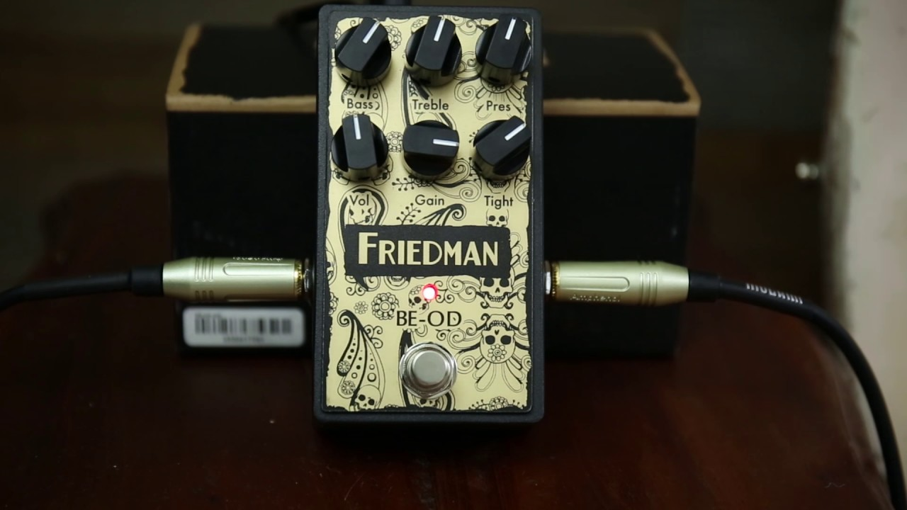 b04e356cce5 Friedman BE-OD - Killer Overdrive Pedal Alert - From Van Halen To Hendrix  This One Does It All