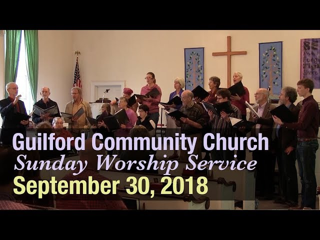 Guilford Church Service - 9/30/18