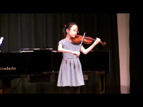 Caecilia Lee (age 10) Sicilienne and Rigaudon by Kreisler