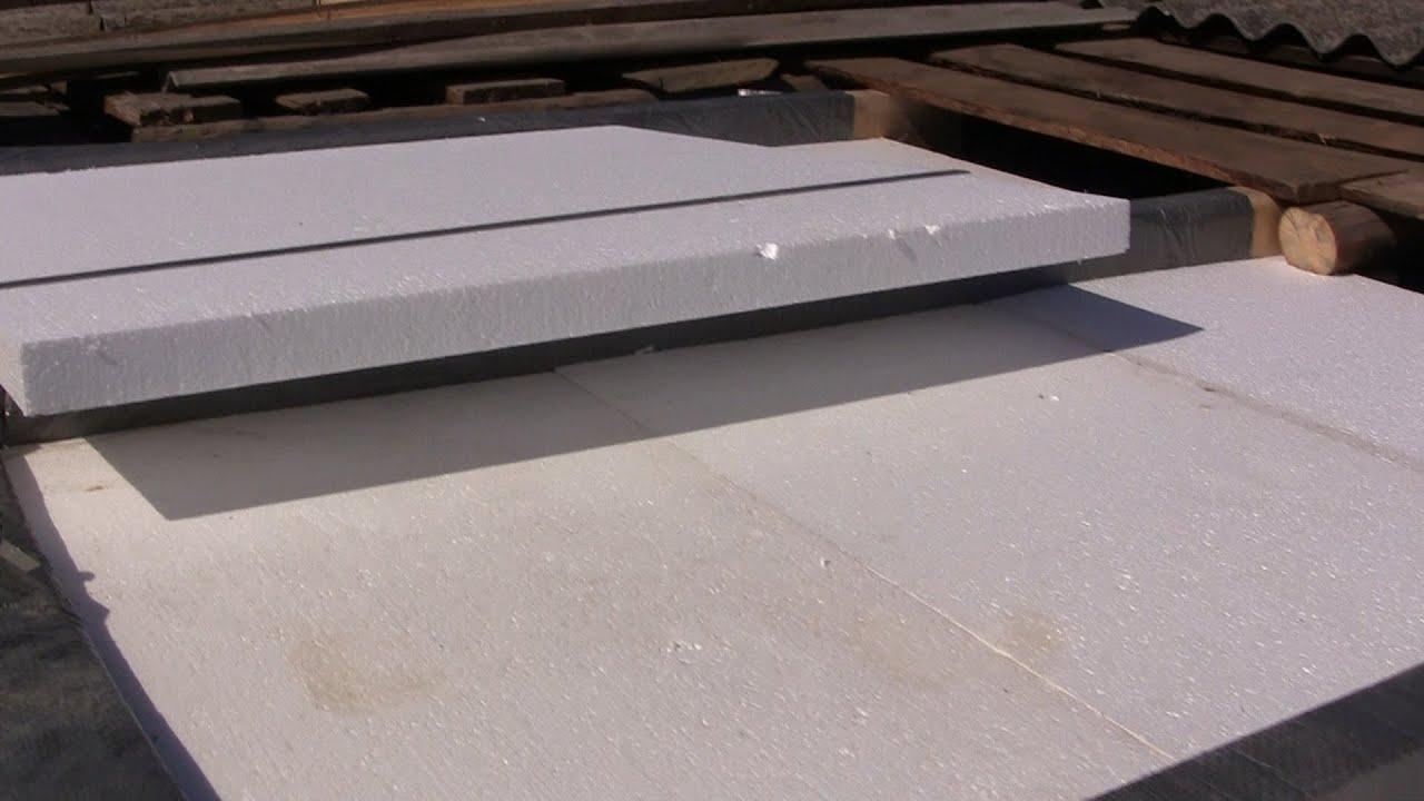 Утепление потолка! Важно знать как закладывать пенопласт или полистирол!