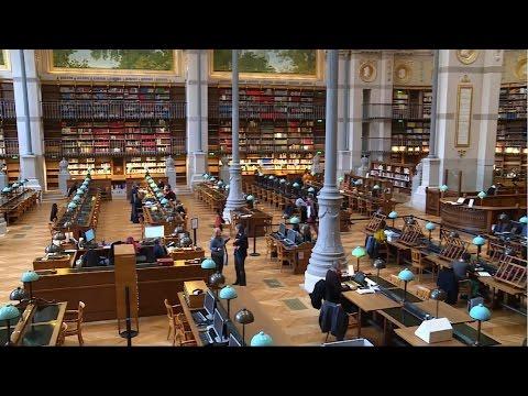 La BnF | Visite de la Bibliothèque Richelieu rénovée