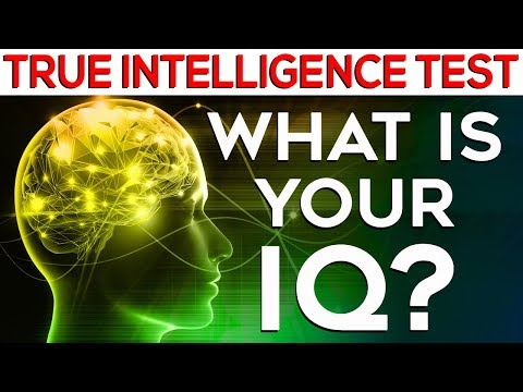 What is your IQ? Test your TRUE intelligence