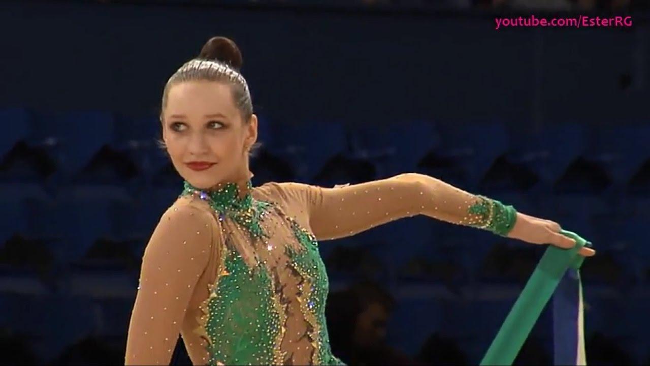 Polina Khohina Hoop EF - WC Guadalajara 2017 - YouTube