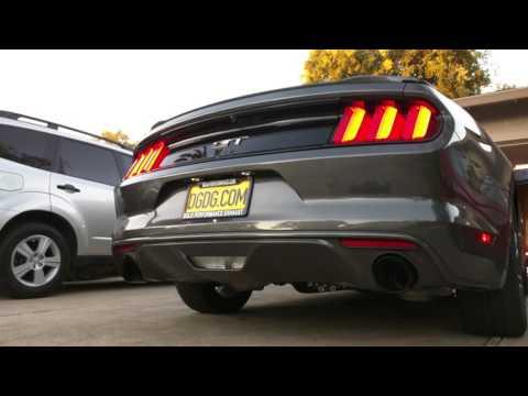Solo Performance Street Race XV vs Stock Exhaust - 2016 Mustang GT