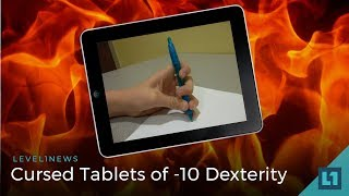 L1 News (Crypto, Weirdness): Cursed Tablets of -10 Dexterity -- 2018-03-09