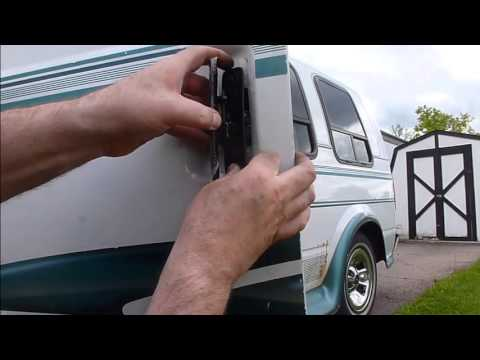 Astro & Safari Van Door Handle Replacement