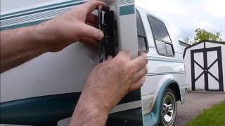 astro safari van door handle replacement