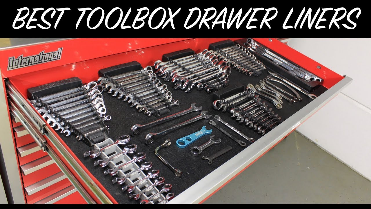 Best Toolbox Drawer Liners Cheap Auto Fanatic Youtube