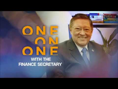 CNN Philippines Exclusive: One-on-one with Finance Secretary Carlos 'Sonny' Dominguez