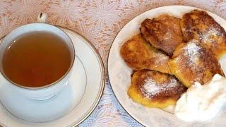 Оладьи из тыквы как приготовить тыквенные  оладушки на завтрак рецепт