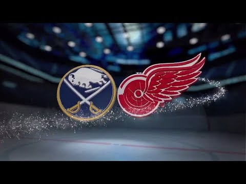 Buffalo Sabres vs Detroit Red Wings - November 17, 2017 | Game Highlights | NHL 2017/18. Обзор матча