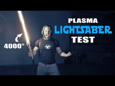 4000° LIGHTSABER TEST (CUTS ANYTHING!) - Видео онлайн
