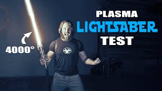 4000° PROTO-LIGHTSABER TEST (CUTS ANYTHING!)