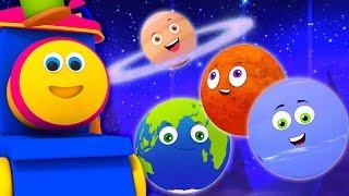 Download bob kereta api planet lagu | belajar nama planet | Bob Planets Song