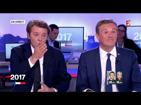 """""""Présidentielle 2017"""" : Clash Dupont-Aignan – Baroin (France 2)"""