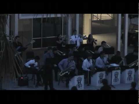 Olympia High School Jazz Ensemble 1 - 'Round Midnight