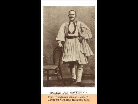 Vlach Song from Macedonia-Atanase Iorghitsa